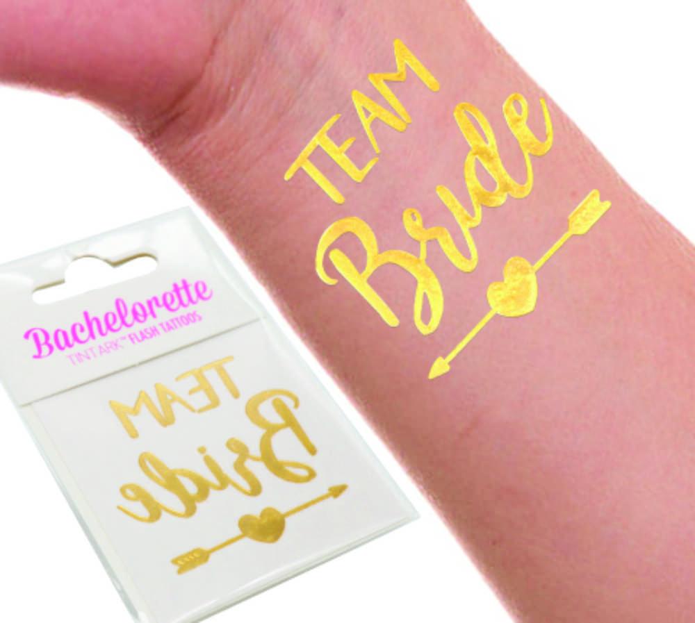 Tatuagem Dourada Pra Despedida de Solteira