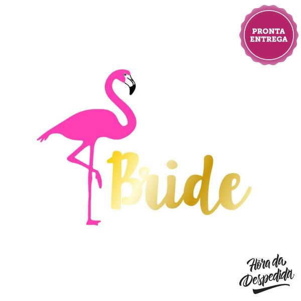 Tatuagem Flamingo Pronta Entrega para Despedida de Solteira