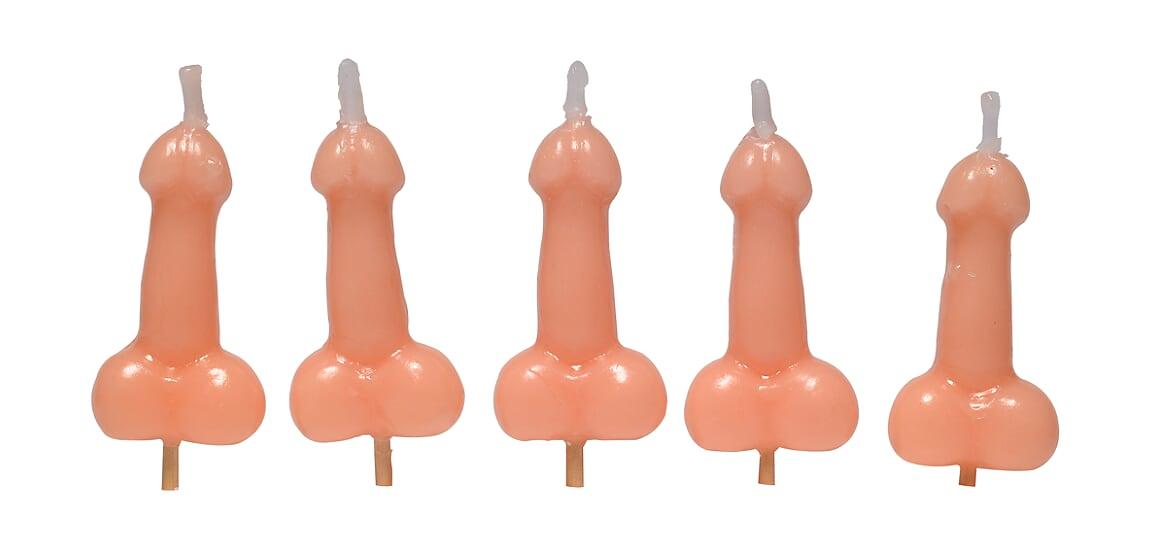 Velas Divertidas em formato de penis