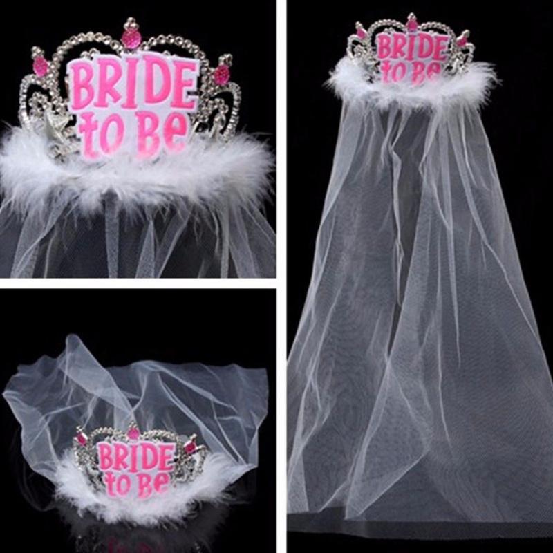 Véu Bride to Be c/ Penas