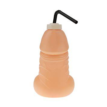 Willy Drinking Bottle 350ml Pronta Entrega para Despedida de Solteira