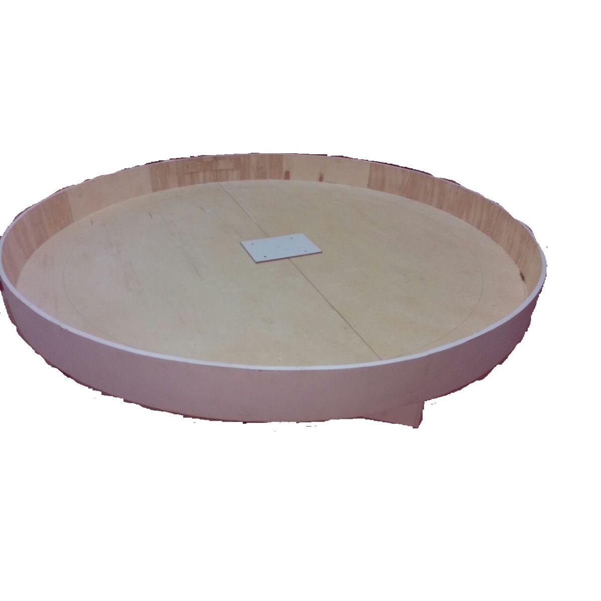 Cama Box Redonda