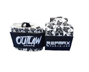 Munhequeira Outlaw 30 cm Skulls Caveiras