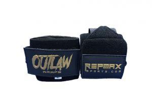Munhequeira Outlaw 45 cm Black n' Gold
