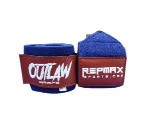 Munhequeira Outlaw 45cm Red n' Blue