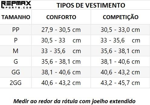 Joelheira Repmax 7mm
