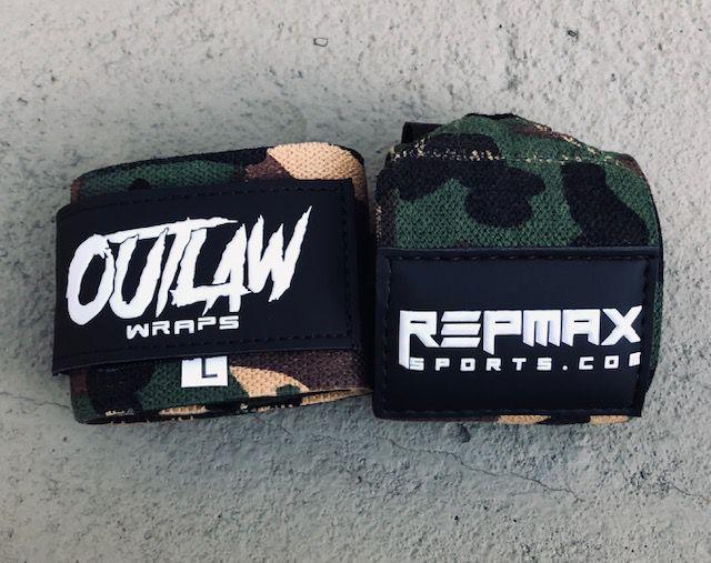 Munhequeira Outlaw 45cm Camuflada Militar