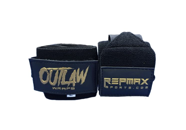 Munhequeira Outlaw 60 cm Black n' Gold