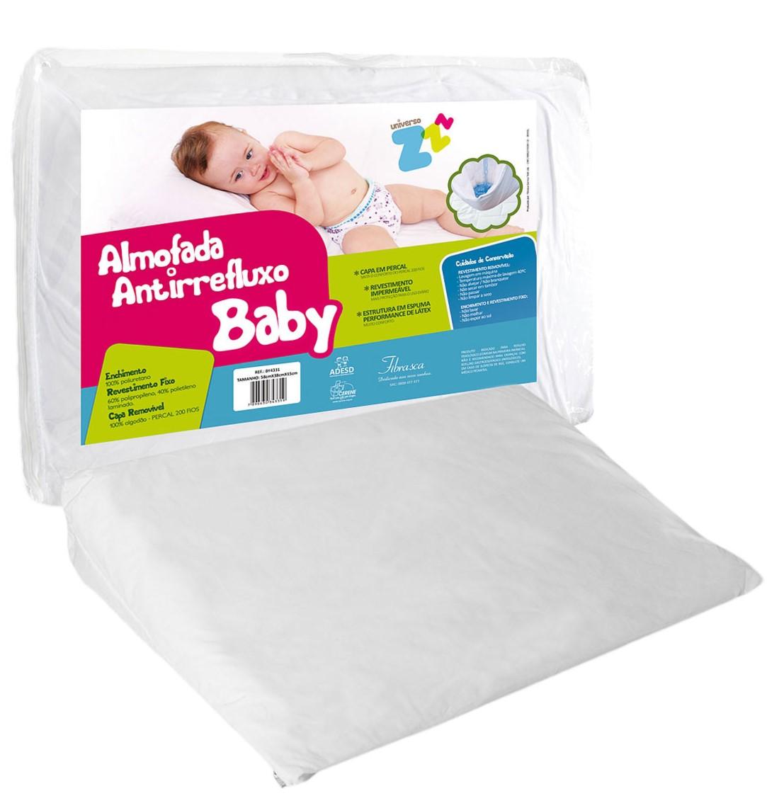 Almofada Anti Refluxo Baby Fibrasca