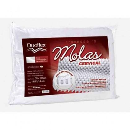 Travesseiro Duoflex Cervical de Molas MN2101