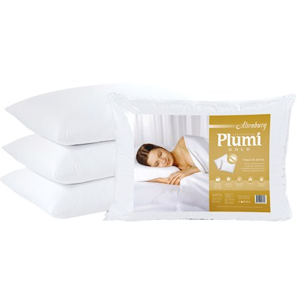 Travesseiro Plumi Gold Altenburg