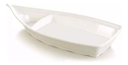 Barca Barco P/ Açai Sorvete Sushi Melanina 700ml 32x14cm  - Super Utilidades
