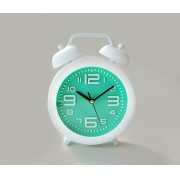 Relógio Despertador Fashion Verde Clean