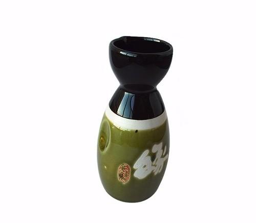 Sake Saquê Conjunto Vasilhame E 4 Cálices Whisky  - Super Utilidades