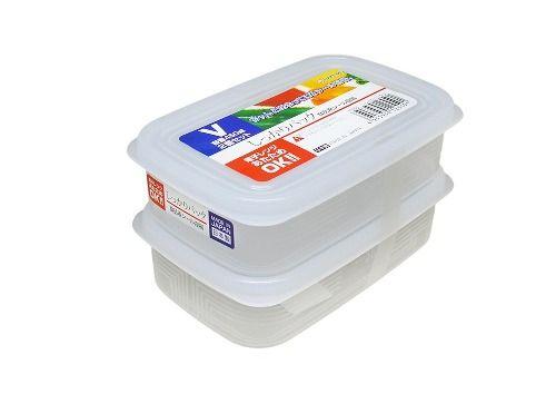 Pote Plástico 2 Unid De 450ml Mod. V K-255 Nakaya  - Super Utilidades