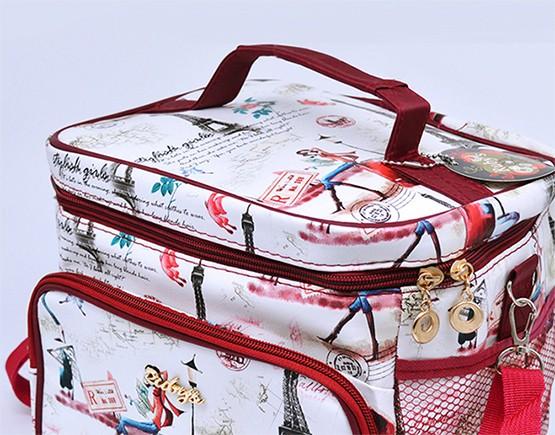Bolsa Sacola Térmica Paris  18  x 30 x 20 cm NEC-041P  - Super Utilidades