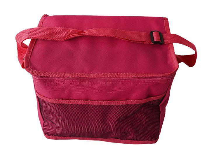 Bolsa Sacola Térmica Rosa Pink com alça 30x20x23 cm  - Super Utilidades