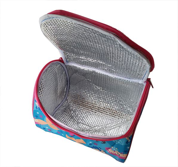 Bolsa Sacola Térmica Sereia 15,5 x 21x 15,5 cm 4 litros  - Super Utilidades