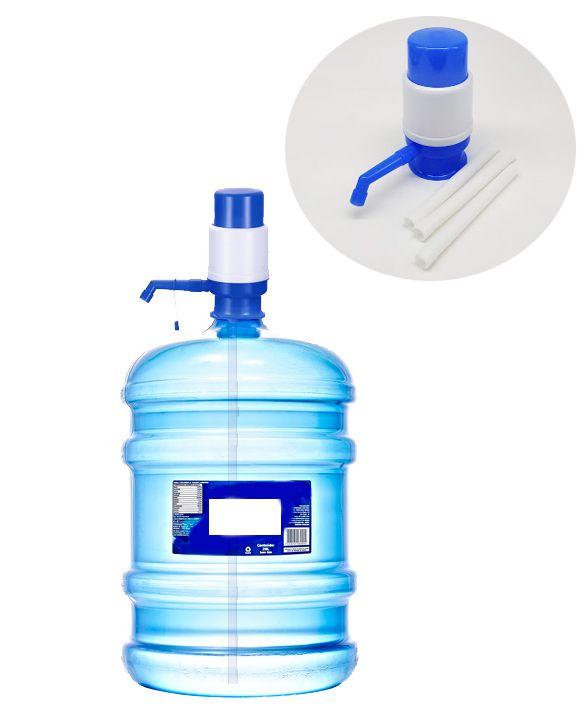 Bomba Manual kit 3 pcs Galão 10-20 litros  - Super Utilidades