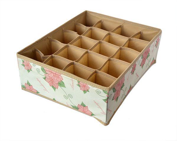 Caixa organizadora 20 espaços 36 x 28 x 12 cm   - Super Utilidades