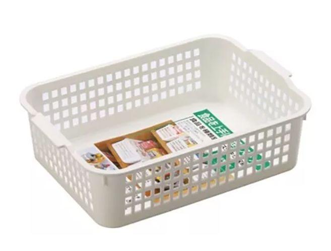 Cesta Organizadora INO-4518 | 22,2 Larg.x 31,2 Compr X 9,3 | INOMATA  - Super Utilidades