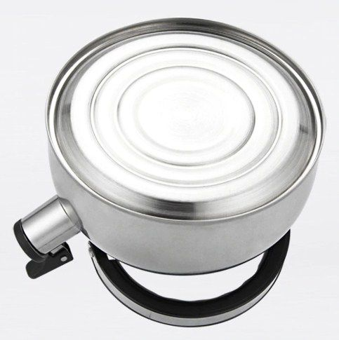 Chaleira de Inox com Apito 2 litros Casita  - Super Utilidades
