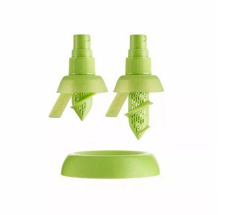 Conjunto Spray Pulverizador E Borrifador De Laranja E Limão  - Super Utilidades