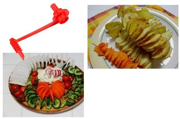 Cortador de Legumes em Espiral KOK-KK247  - Super Utilidades