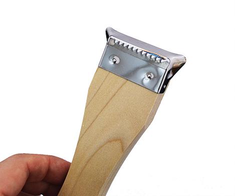 Descascador e Fatiador em Tiras Madeira 18,5 cm x 5 cm KOHBEC KOO-7-0104   - Super Utilidades