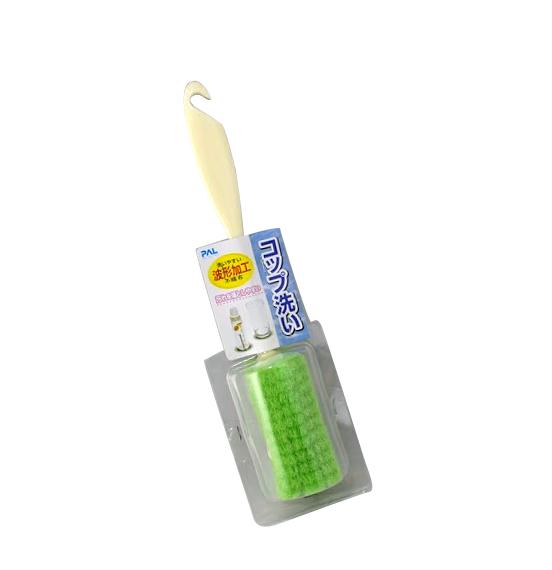 Esponja c/ Cabo  para Lavar Mamadeira e Copo 25cm SP-30226 SEIWA-PRO   - Super Utilidades
