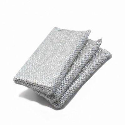 Esponja que não risca -  3 pcs - para Teflon, Terfal, Cerâmica  - Super Utilidades