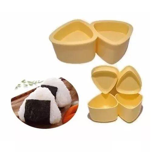 Forma Para Onigiri Oniguiri Bolinho Japones Sushi Triangular  - Super Utilidades
