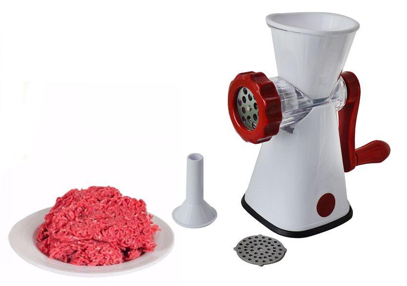 Moedor Picador Carne Moída Multiuso Manual Máquina Açougue  - Super Utilidades