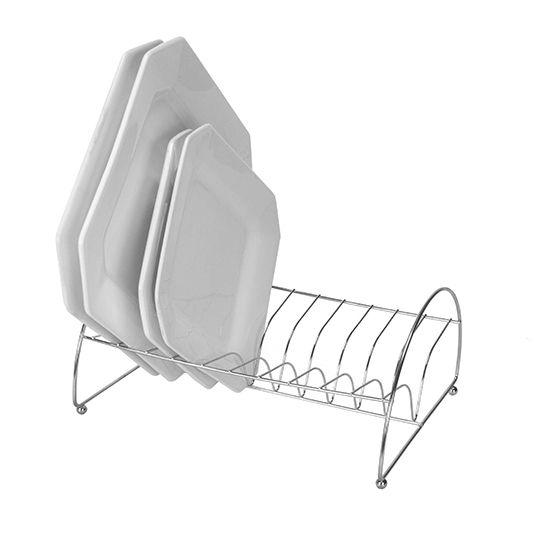Organizador Escorredor de Pratos - 10 pratos  - Super Utilidades