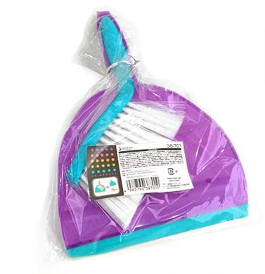 Pá com escova de limpeza SP-38701  - Super Utilidades