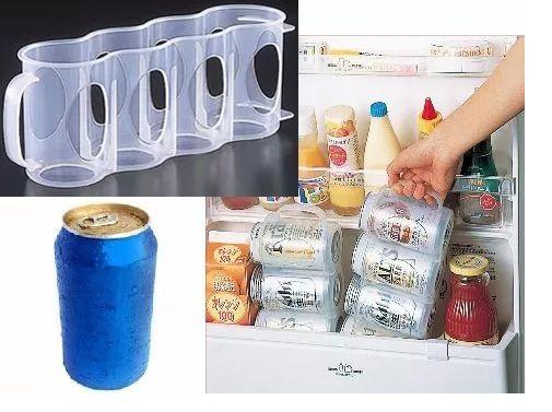 Porta Lata Cerveja Refrigerante - Mais Latas Na Geladeira  - Super Utilidades