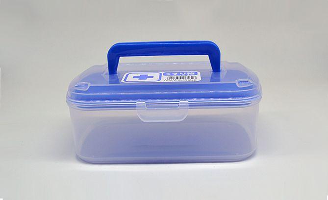 Porta Remédio com alça 17,5 x 11,8 x 7 cm  Nakaya  - Super Utilidades