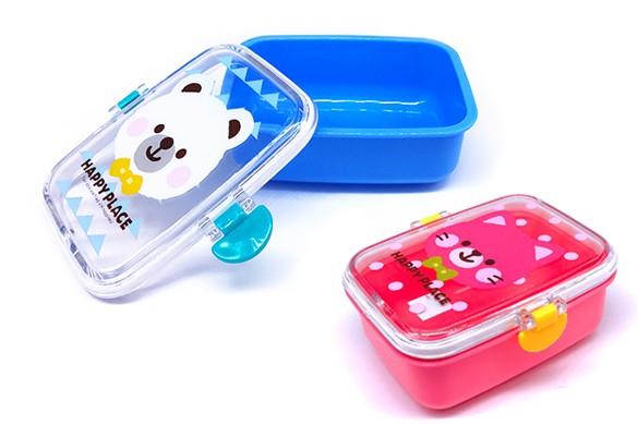 Pote 2 unid Infantil com trava lateral 320ml NAKANO NA-ADC-116   - Super Utilidades