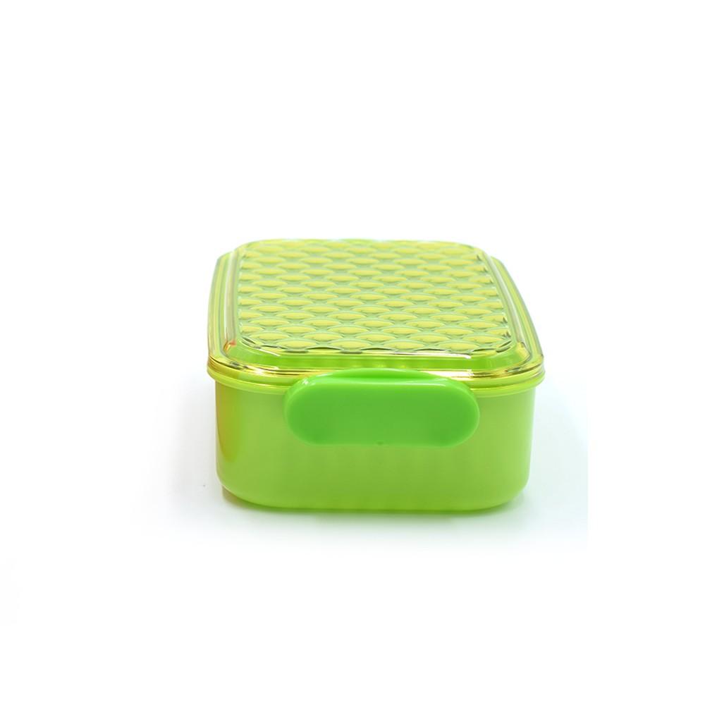 Pote com trava lateral Verde 380 ml YA-816  - Super Utilidades