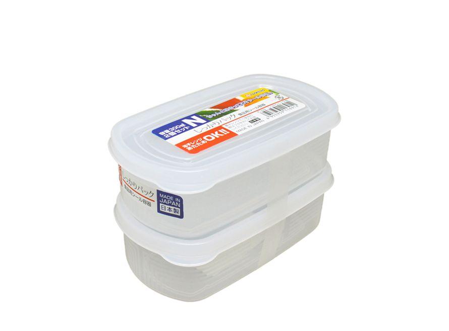 Pote Plástico 2 Unid De 300ml Mod.n K-169 Nakaya  - Super Utilidades
