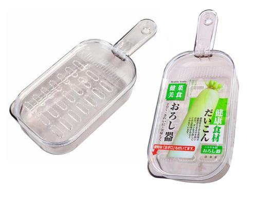 Ralador com pote para rabanete (Daikon) - SMTC1  - Super Utilidades