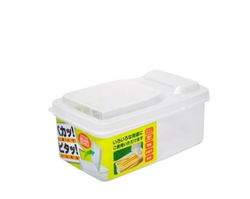 Pote Plástico com Tampa Dobrável 500ml  - Super Utilidades