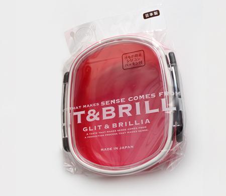 Pote Hermético marmita com trava lateral Rosa 480 ml YA-875C  - Super Utilidades
