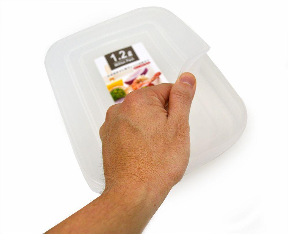 Pote Plástico para Frios Presunto Queijo 26x18,8cm 1.2Litros  - Super Utilidades