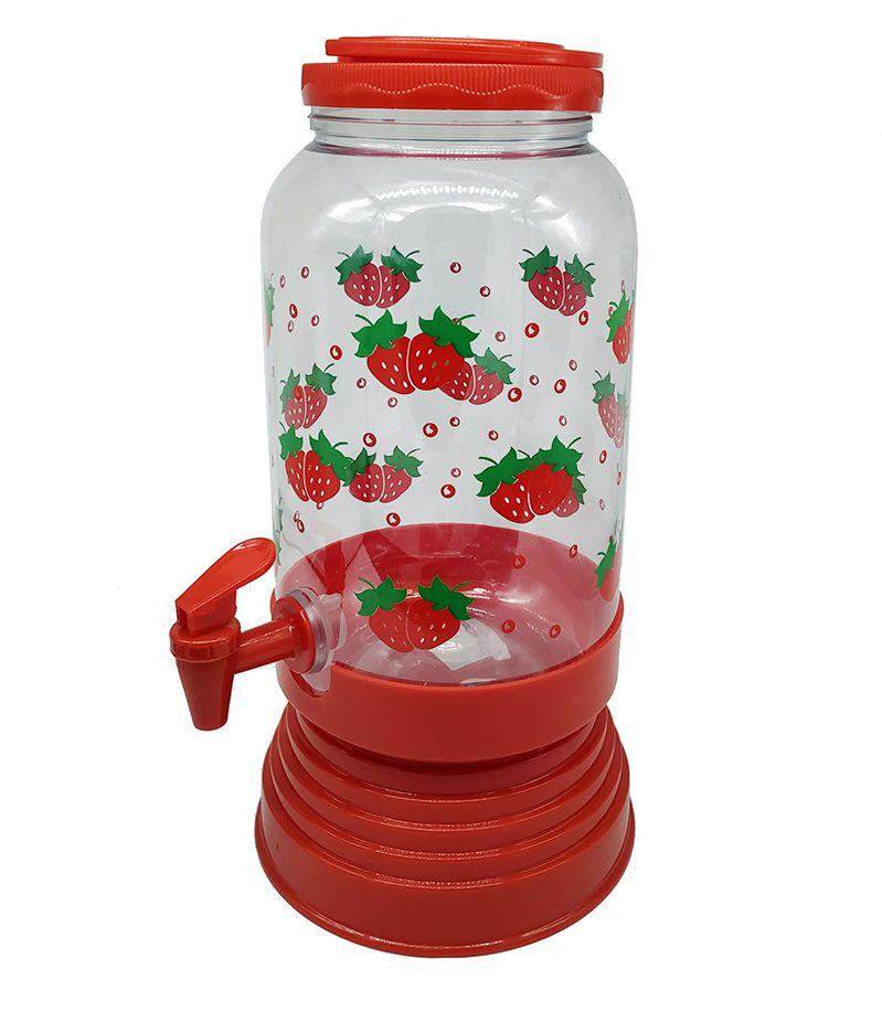 Suqueira 3,6 litros c/ base - plástico  - Super Utilidades