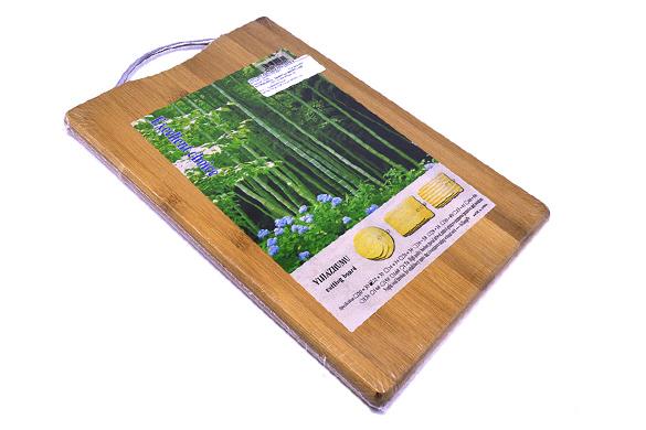 Tábua de Bambu para corte 22x32 cm  - Super Utilidades
