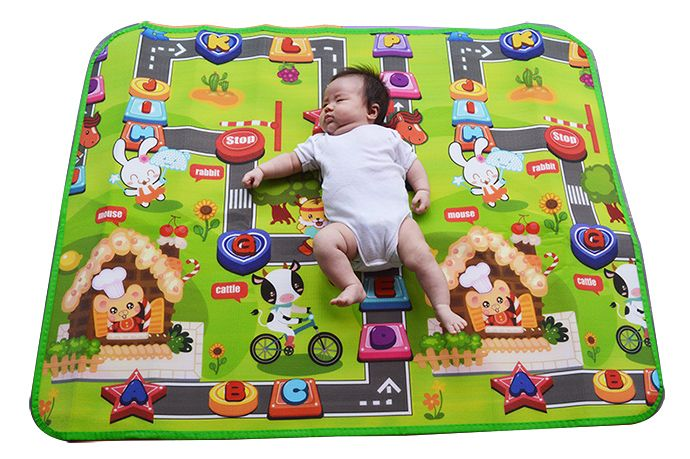 Tapete Atividades Baby Bebe Infantil Portátil Conforto  - Super Utilidades