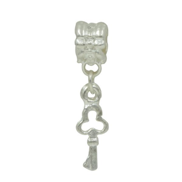Berloque Charm Pandora Inspired Pingente Chave do Coração