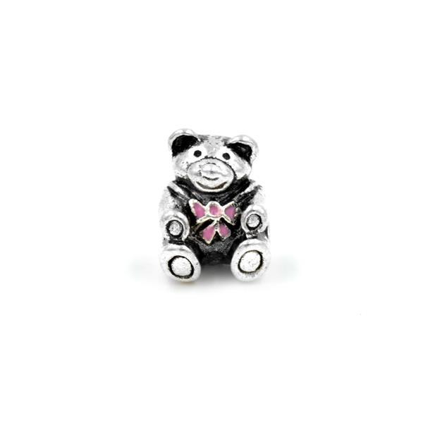 Berloque Charm Pandora Inspired Ursinho