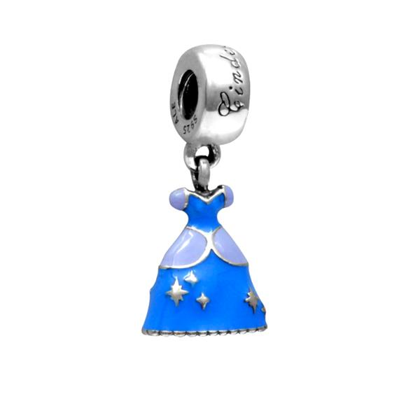 Berloque Charm Vestido Princesa Cinderela